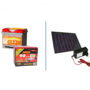 Baterije i solarni paneli